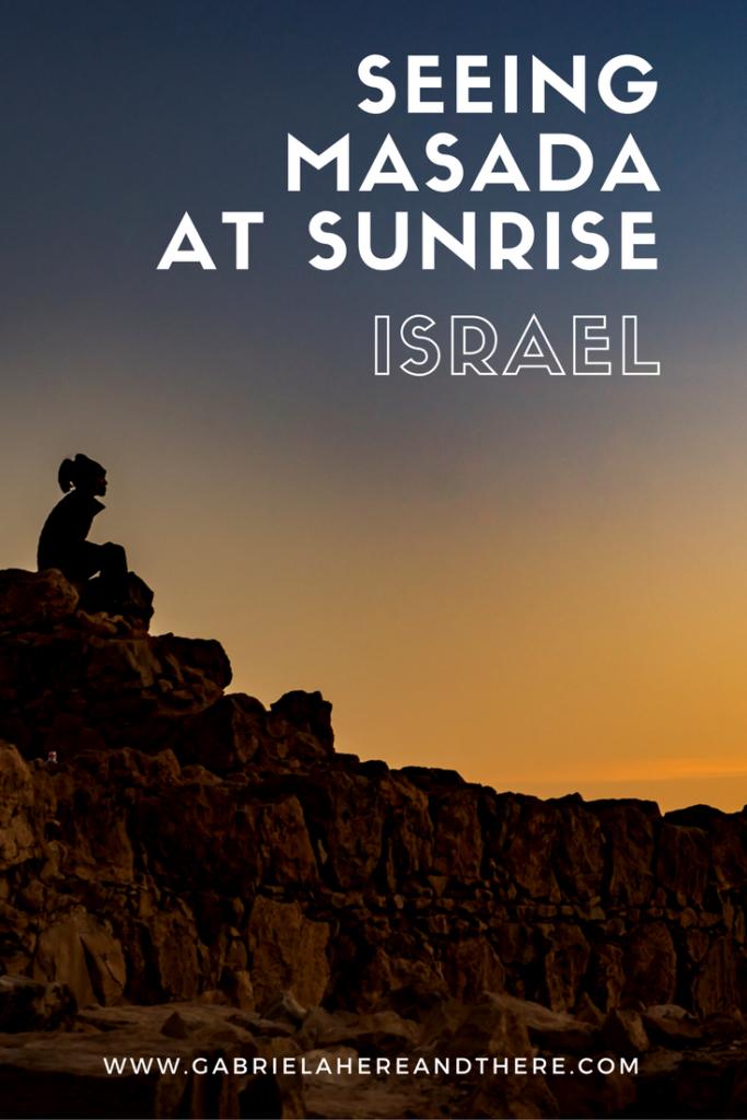 Masada Sunrise in Israel