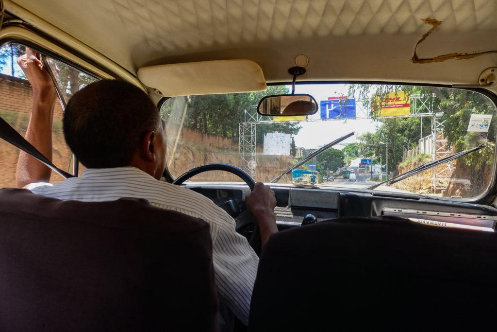 Taxi driver in Antananarivo