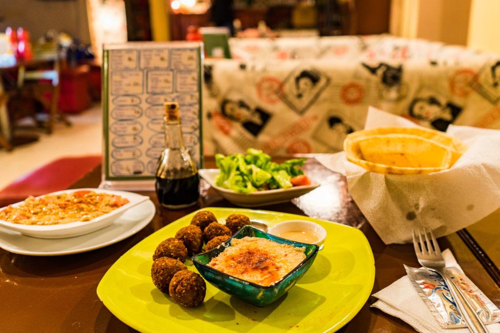 Vegan restaurant, Falafel Zone, Istanbul