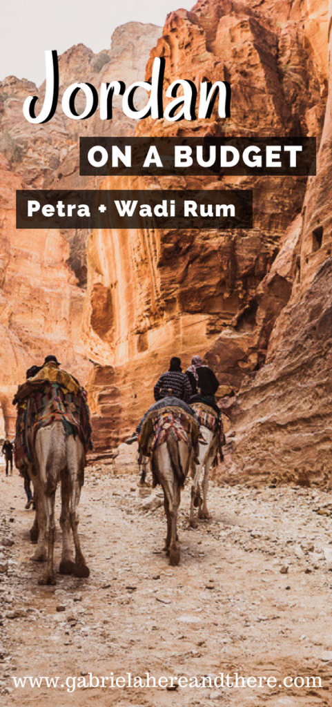 Backpacking in Jordan - Petra & Wadi Rum on a Budget