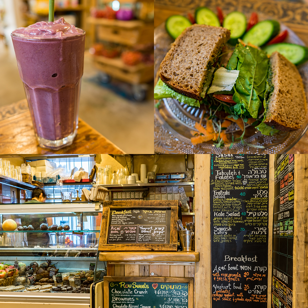 Neroli Organic Juice Bar and Rawfood Diner, Tel Aviv