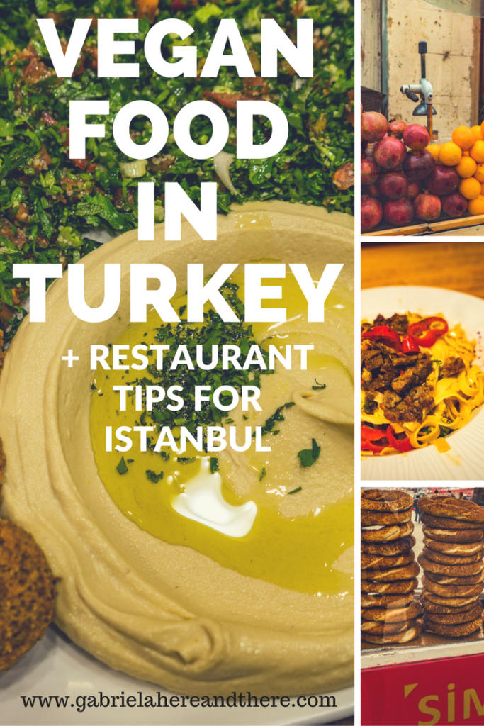Vegan Food in Turkey