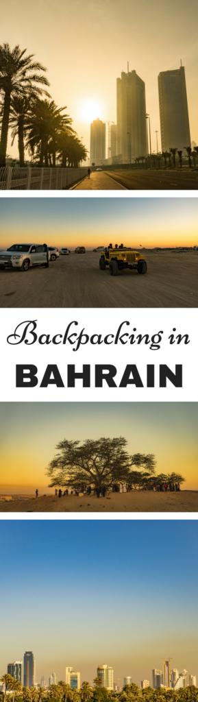 Backpacking in Bahrain