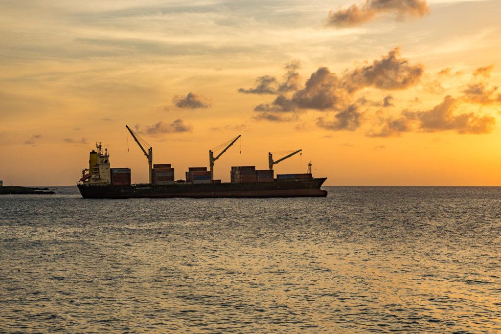 A Ship in Comoros