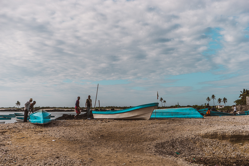 Taking a boat from Grande Comore to Moheli