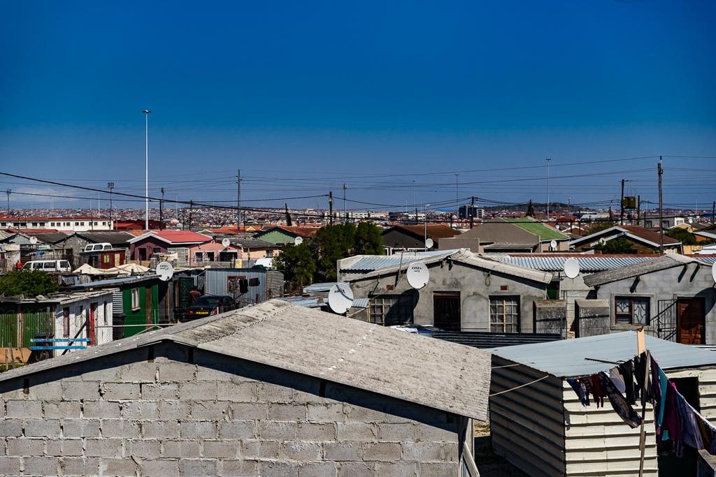 Khayelitsha township in Cape Town, South Africa