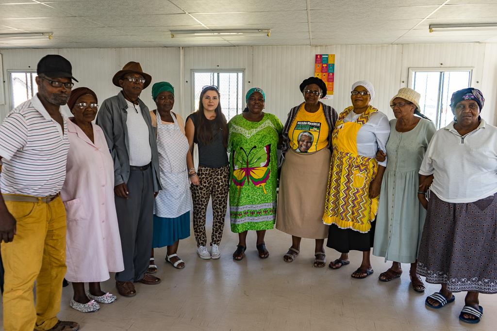Sinovuyo Old Age Group, Khayelitsha township, Cape Town