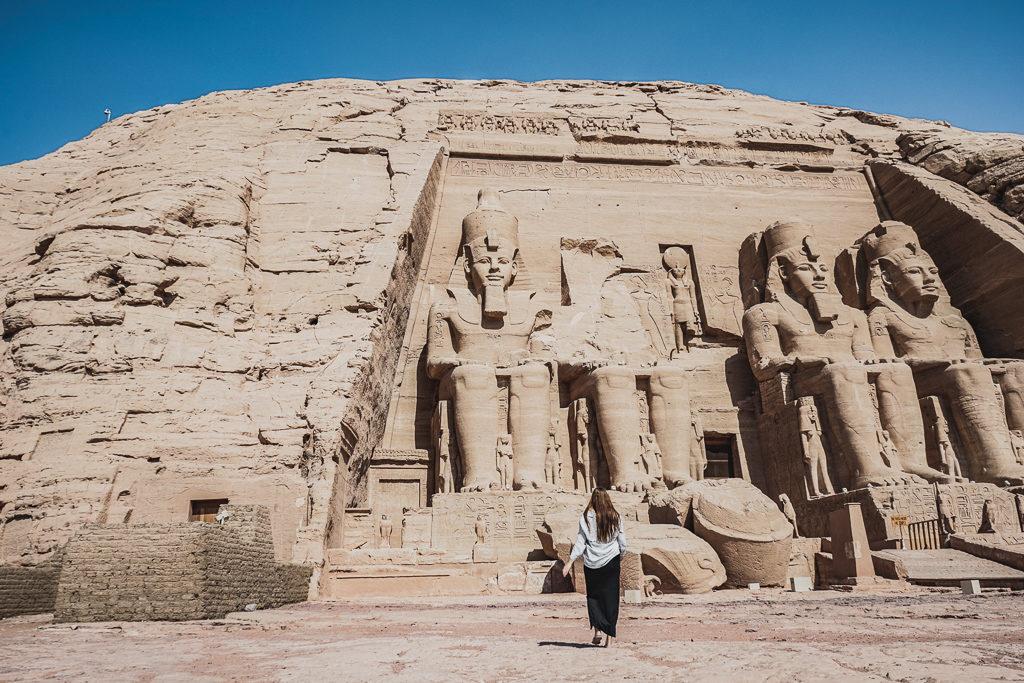 Abu Simbel Tempels, Egypt