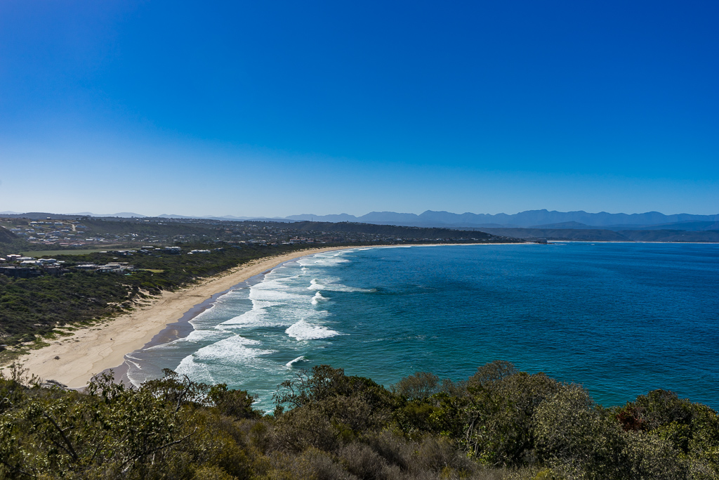 The beach, Plettenberg Bay, The Garden Route, South Africa