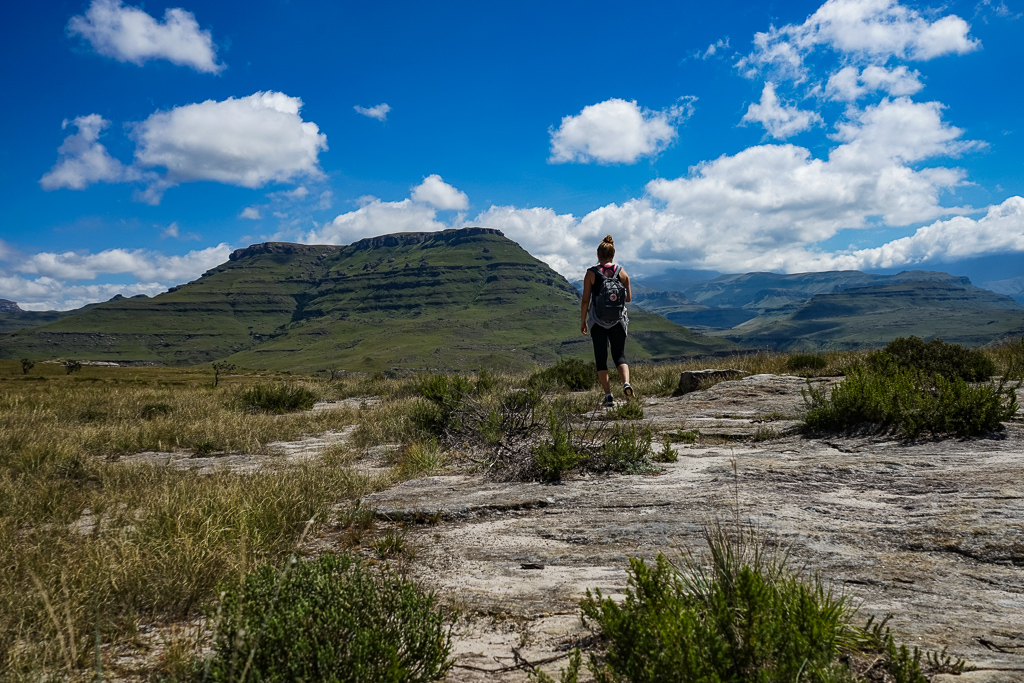 Hiking in the Southern Drakensberg