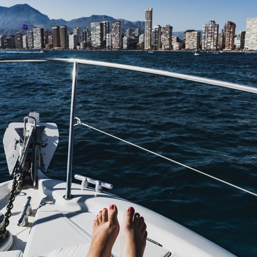 Boat Trip, Benidorm, Spain