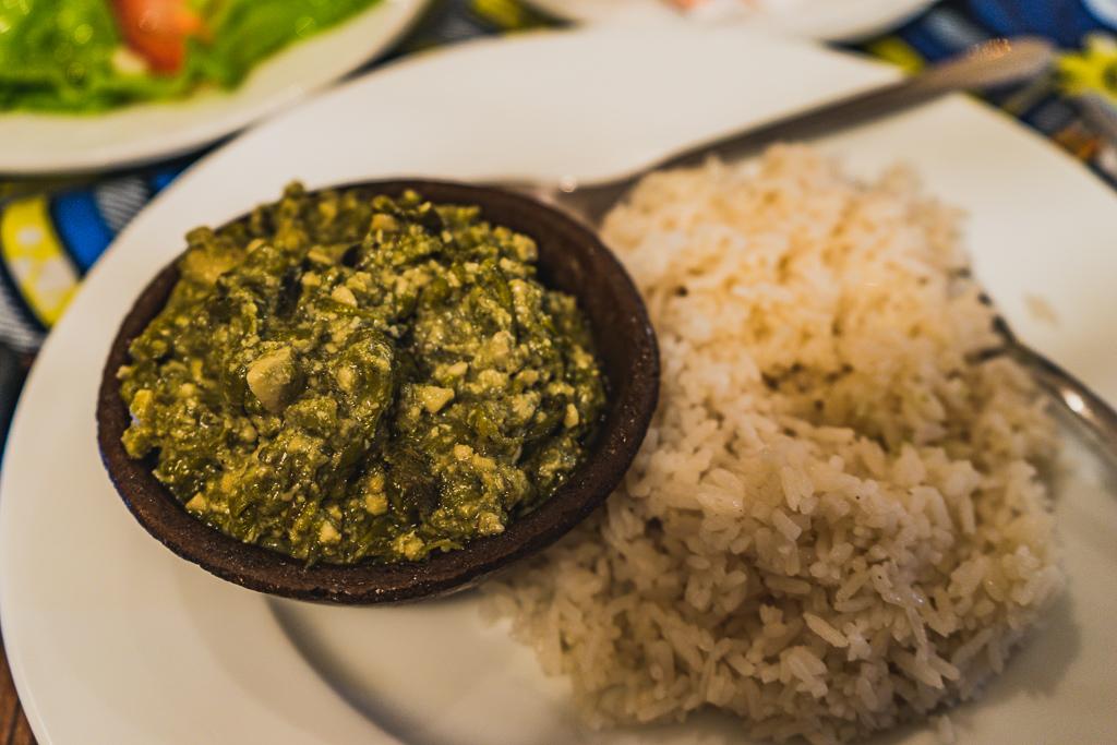 Matapa, a typical Mozambican dish