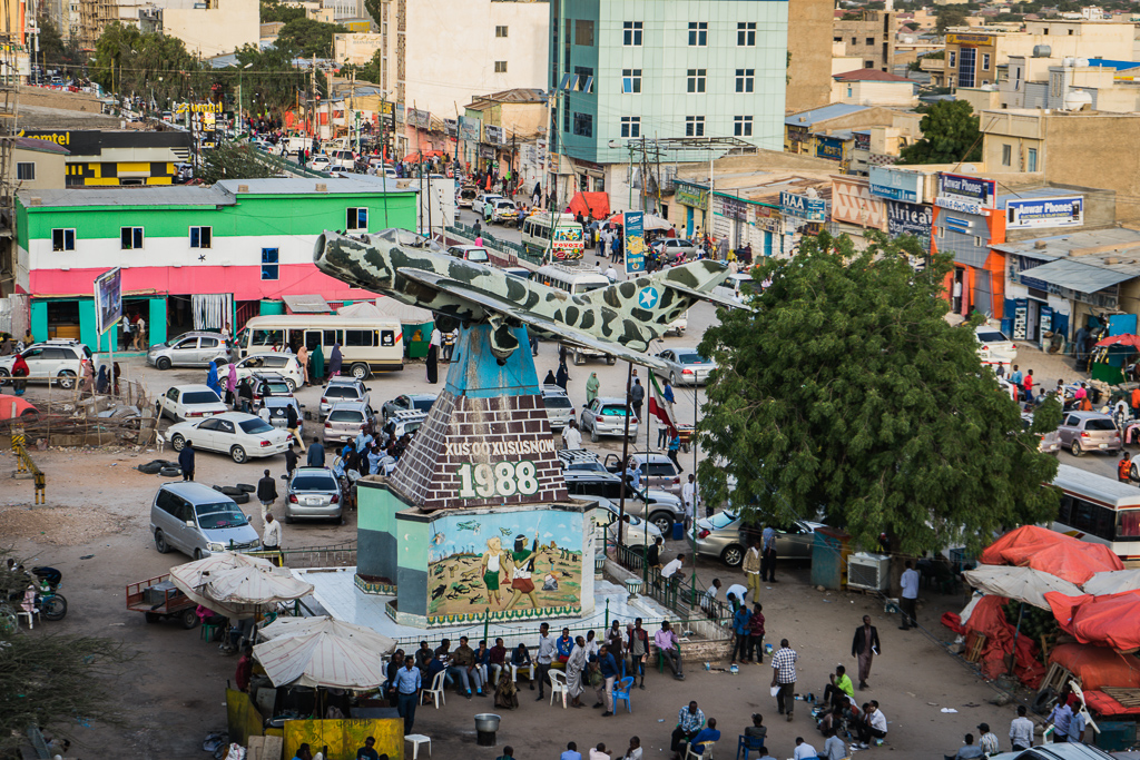 Hargeisa War Memorial in Freedom Square