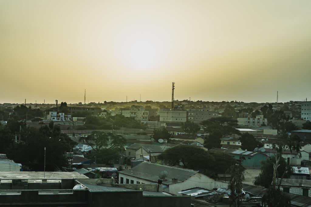 The Sunset View from Damal Hotel, Hargeisa, Somaliland