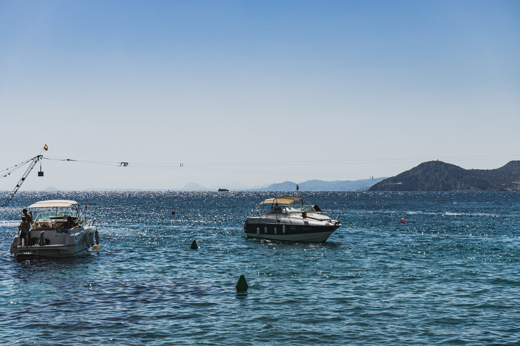 Boat Trip in Benidorm, Spain