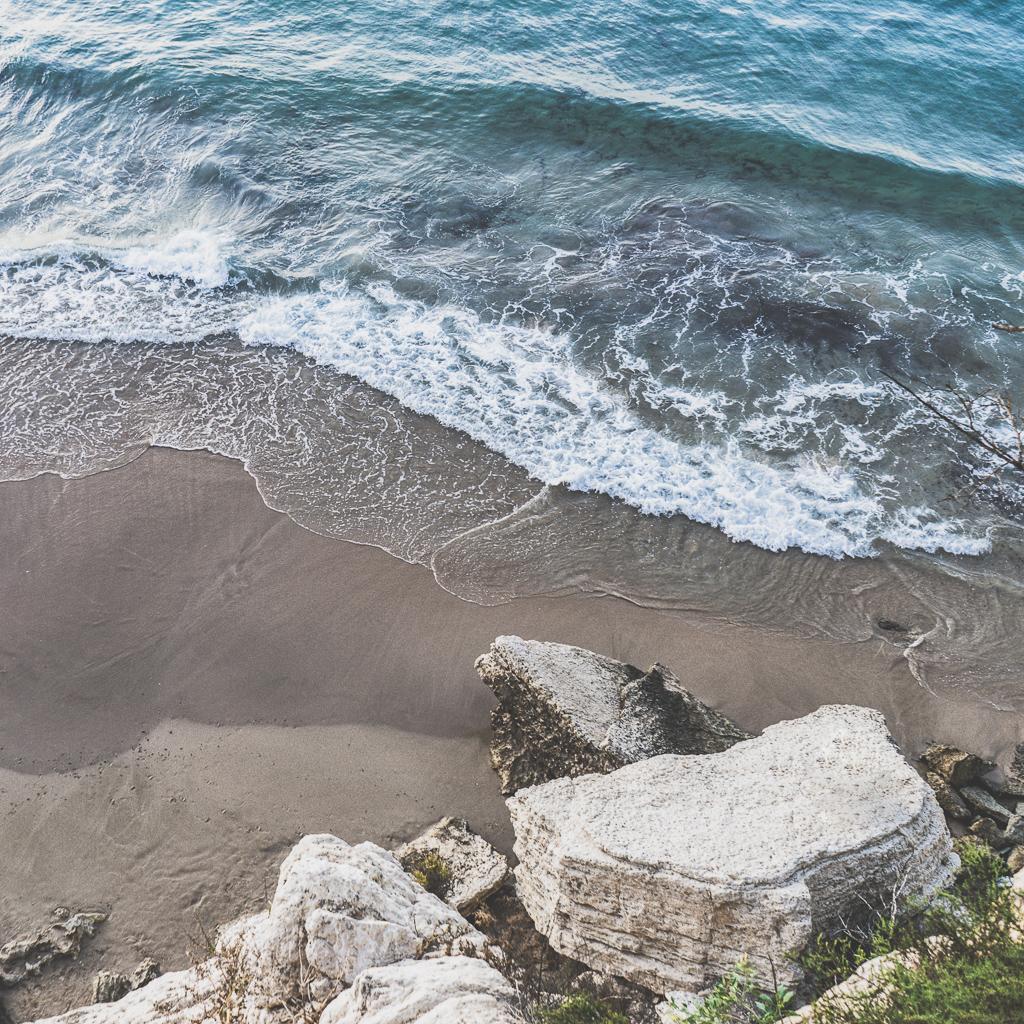 The Beach in Benidorm, Spain