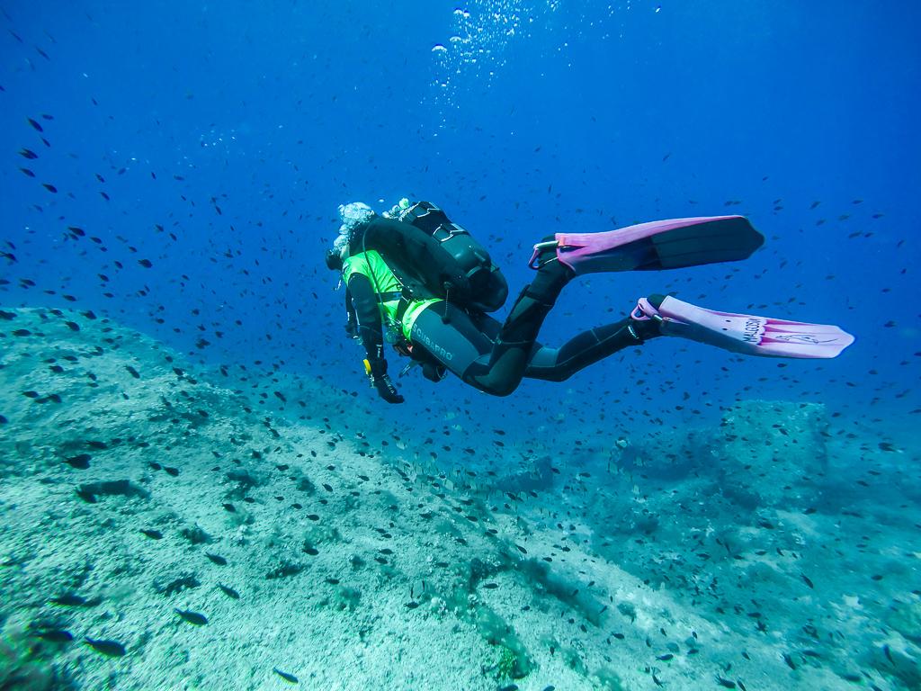 Scuba Diving in Benidorm, Spain