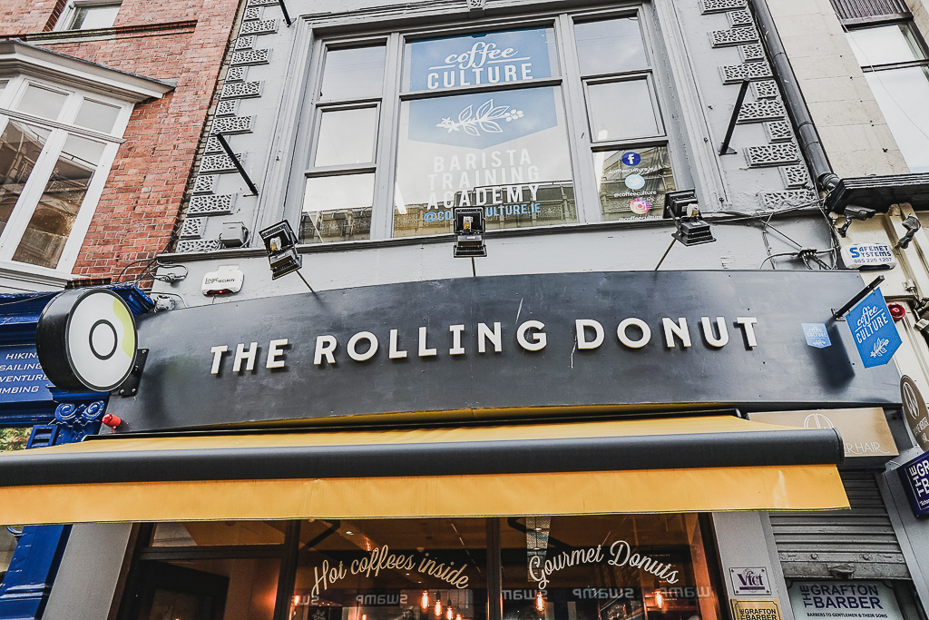 The Rolling Donut, Dublin, Ireland