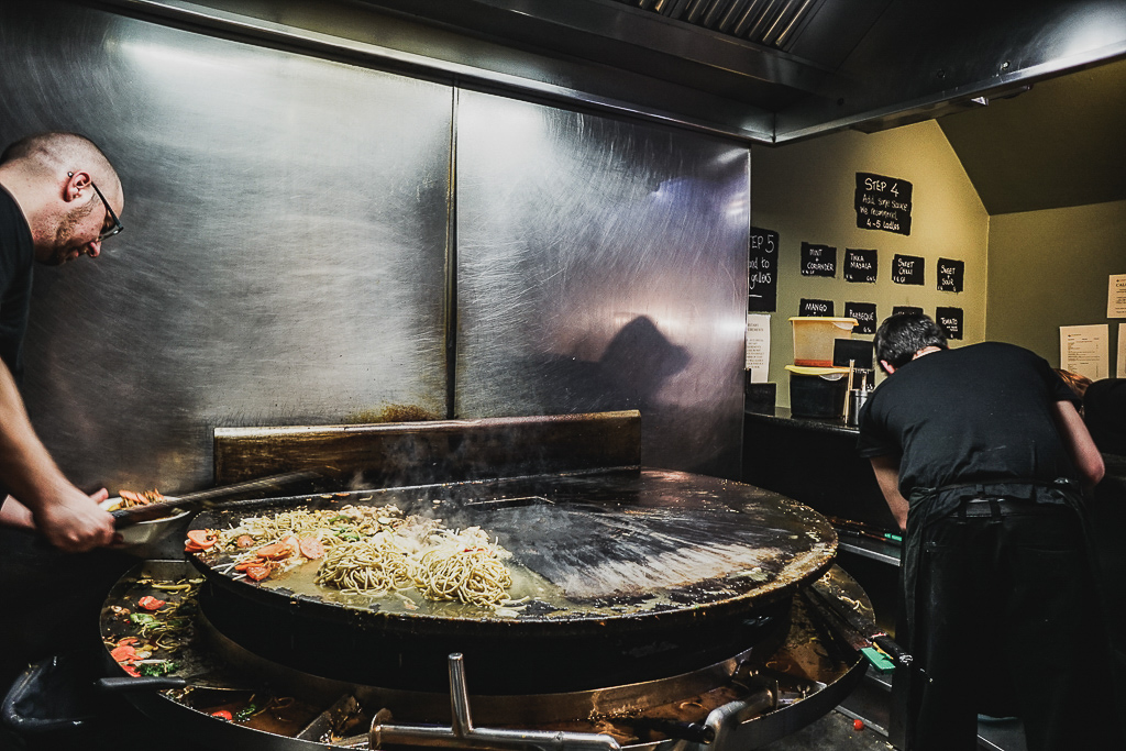 The Mongolian Barbeque, Dublin, Ireland