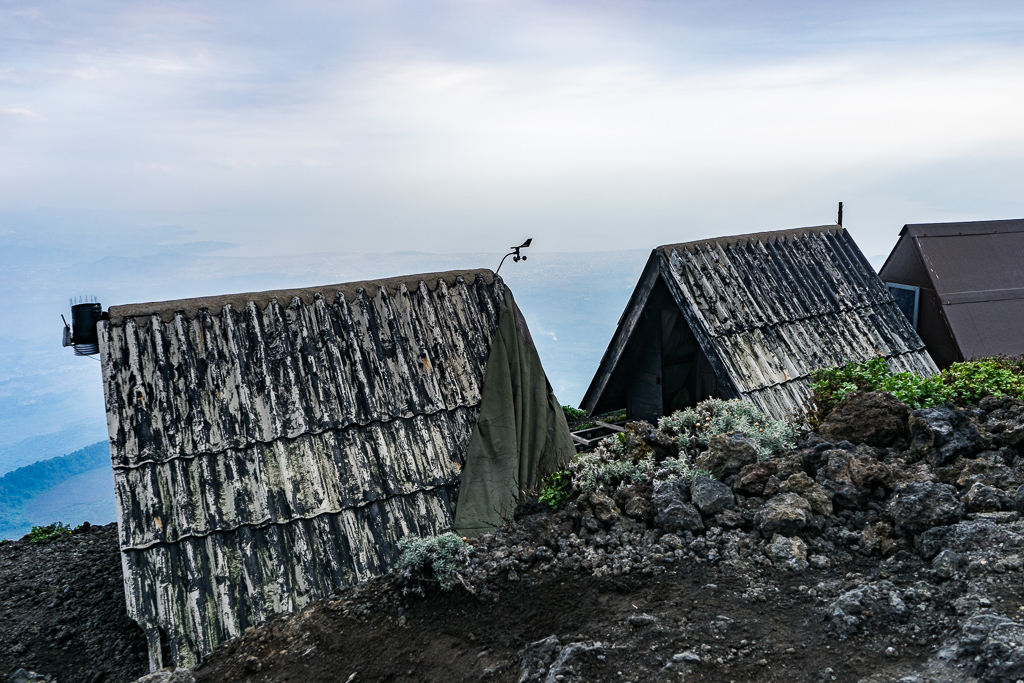 The cabins, A Hike to the World's Largest Lava Lake - Mount Nyiragongo, DR Congo