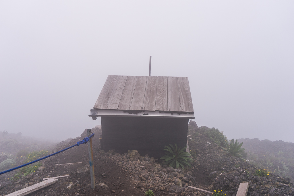 The toilet, A Hike to the World's Largest Lava Lake - Mount Nyiragongo, DR Congo