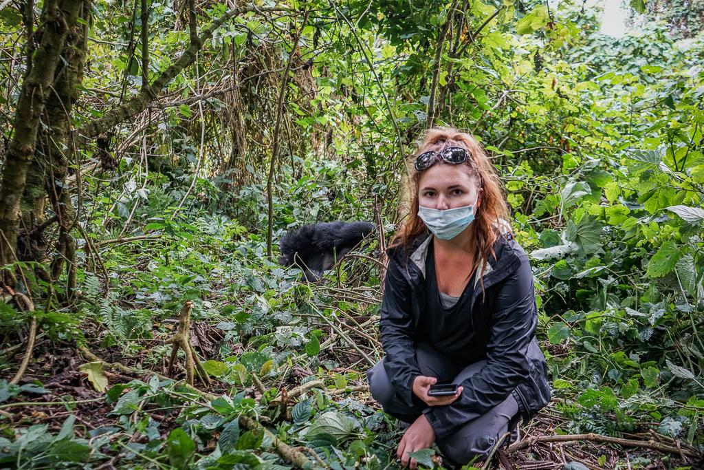 Gorilla Trekking in Virunga National Park in the Democratic Republic of Congo