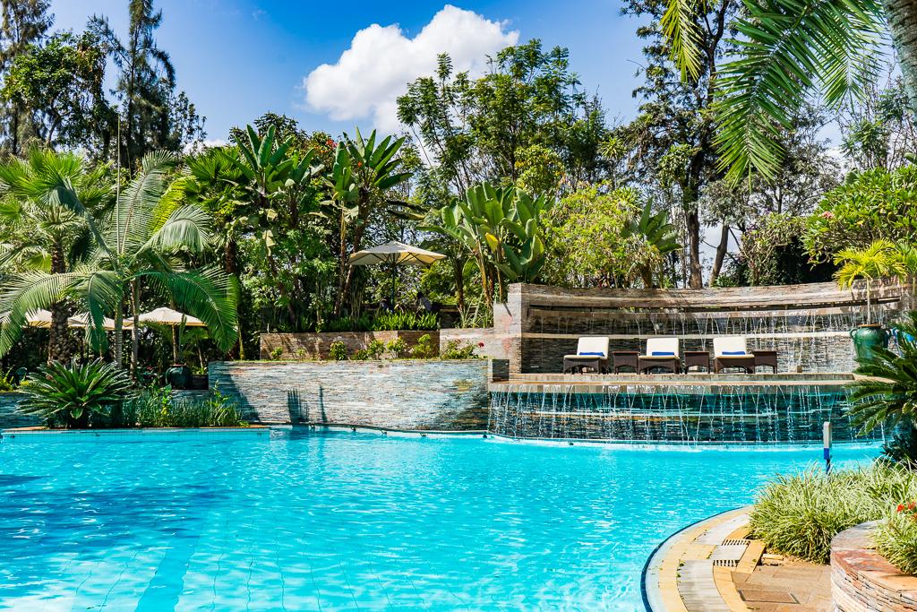 Pool, Kigali Serena Hotel
