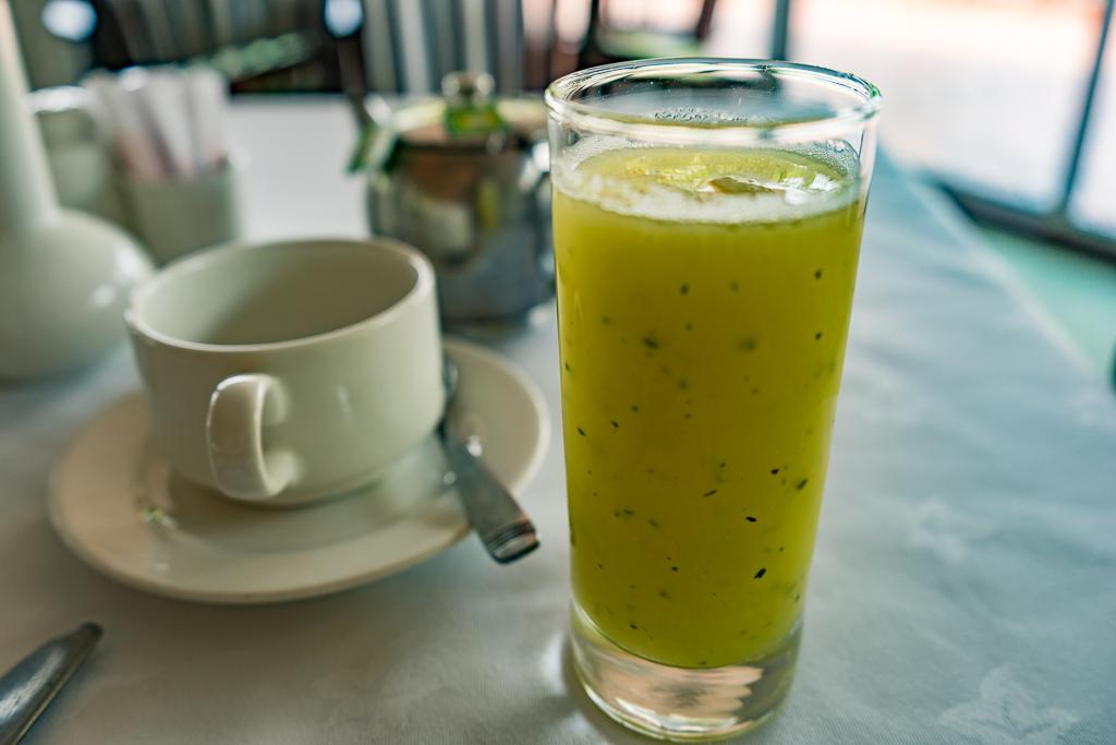 Breakfast, Lake Kivu Serena Hotel, Gisenyi, Rwanda