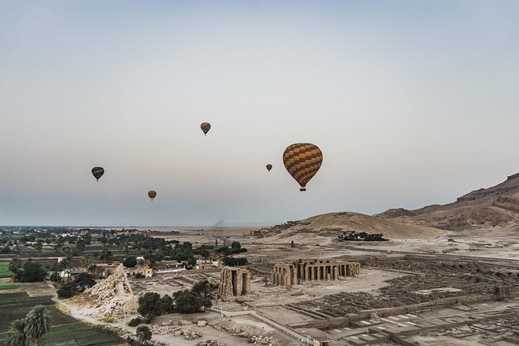 Hot Air Balloon, Luxor, Egypt