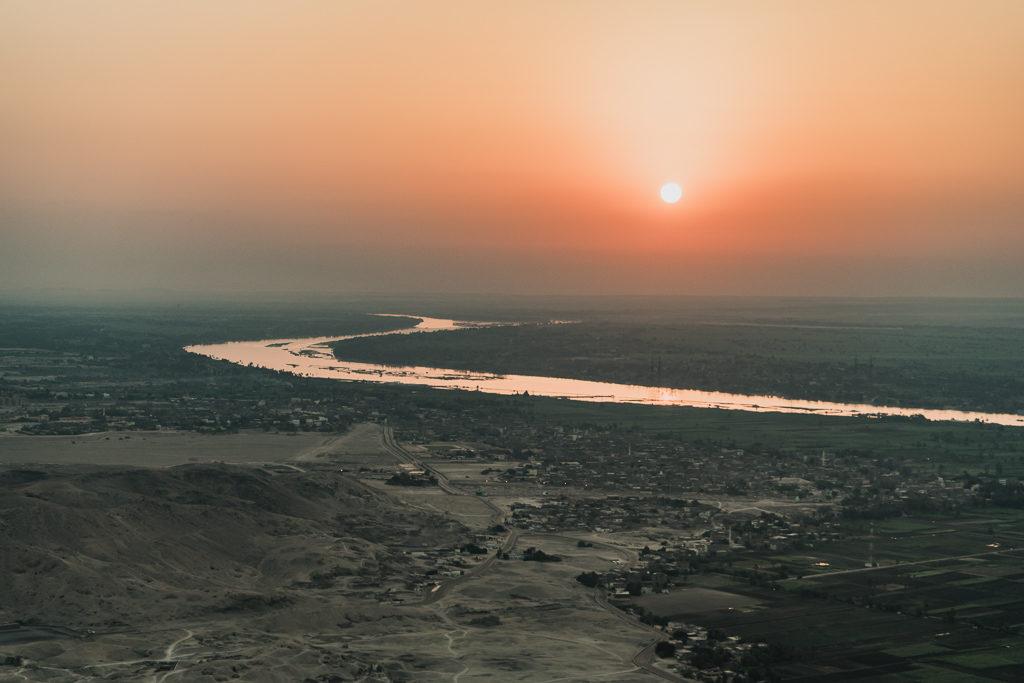 Sunrise, Luxor, Egypt
