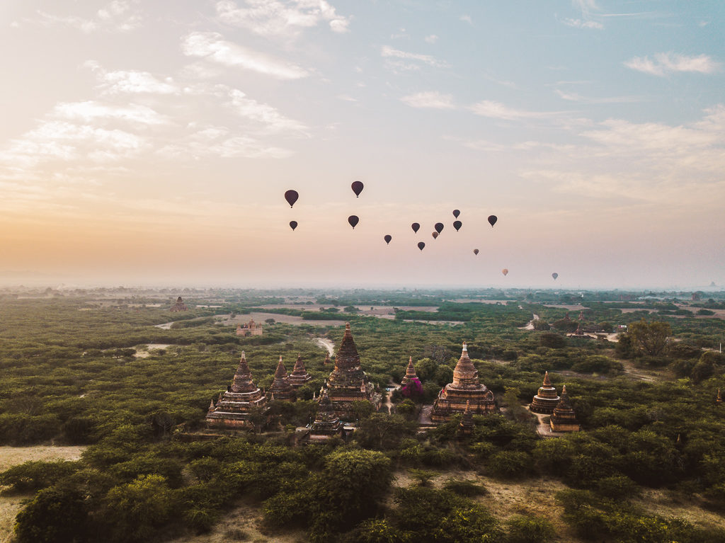 Utrecht Temple - The Best Place to Watch the Sunrise in Bagan, Myanmar
