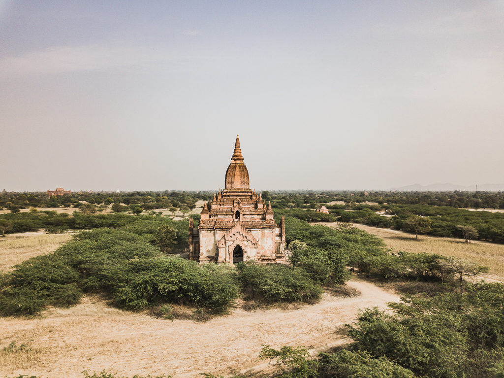 The best pagoda to watch the sunset in Bagan, Myanmar
