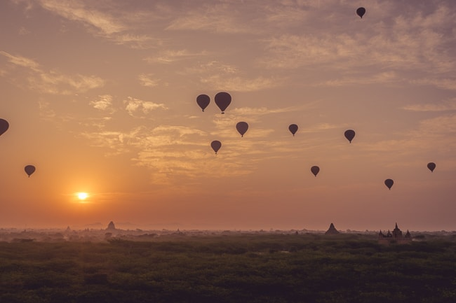 The Best Place to Watch the Sunrise in Bagan, Myanmar