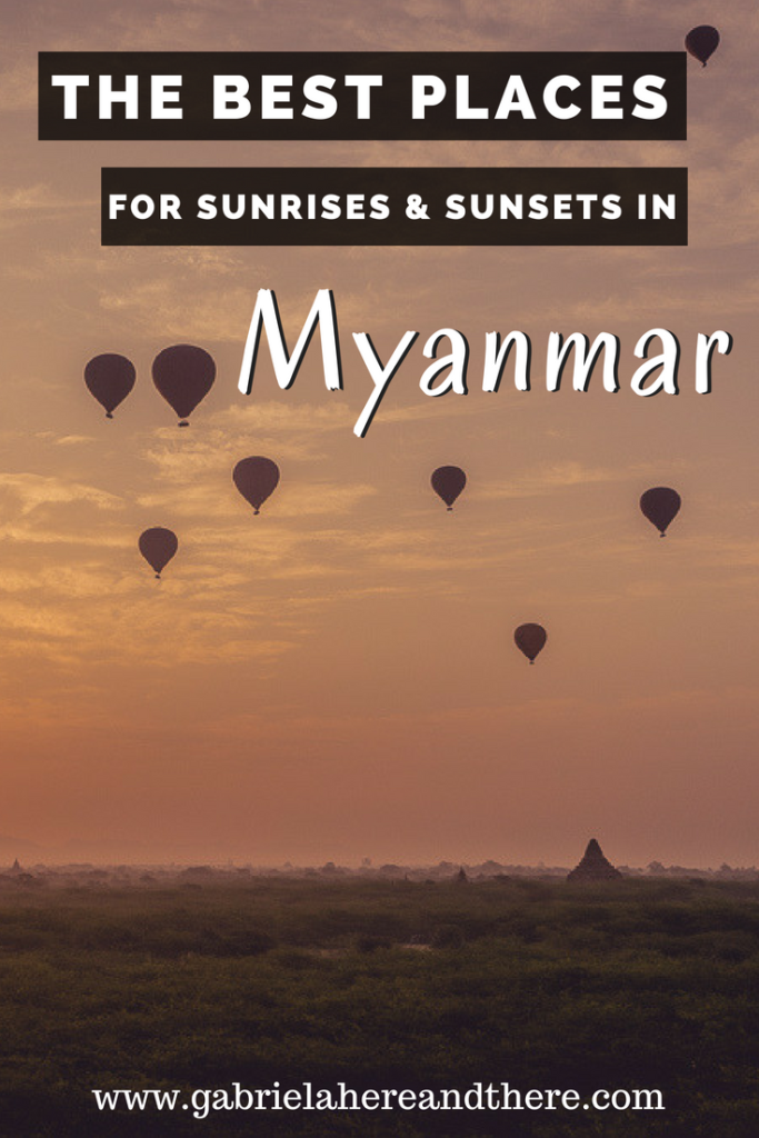 The Best Places for Sunrises & Sunsets in Myanmar