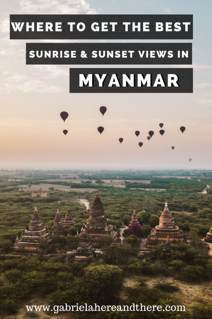 Where to Get the Best Sunrise & Sunset Views in Myanmar