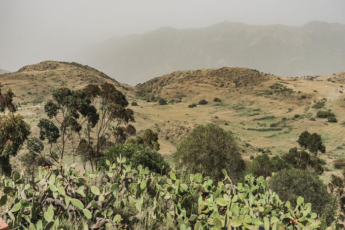 The Beautiful Views Outside of Asmara, Eritrea