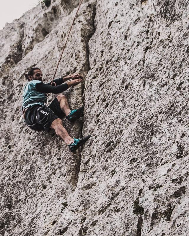 Climbing, Gozo, Malta