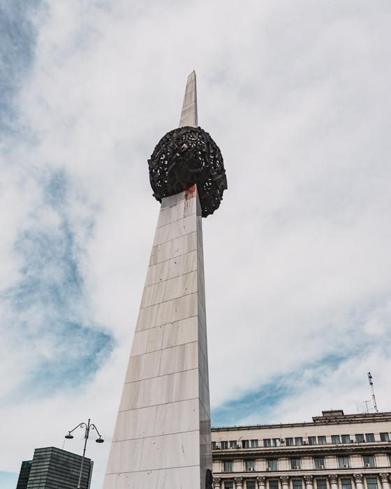Memorial of Rebirth, Bucharest