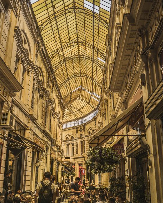 Pasajul Macca-Vilacrosse, Bucharest