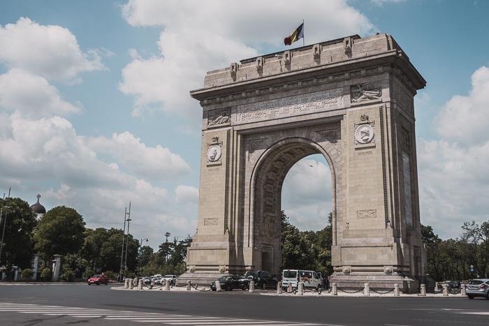 The Arch of Triumph, Bucharest