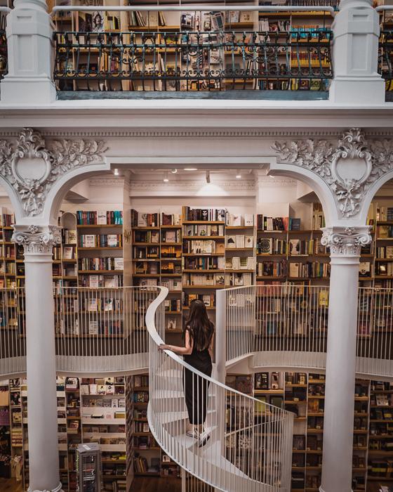 Cărturești Carusel, Bookstore, Bucharest