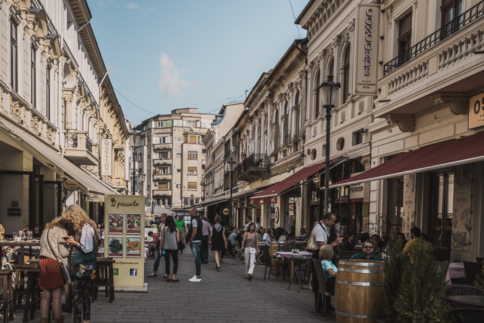 The Old Town of Bucharest