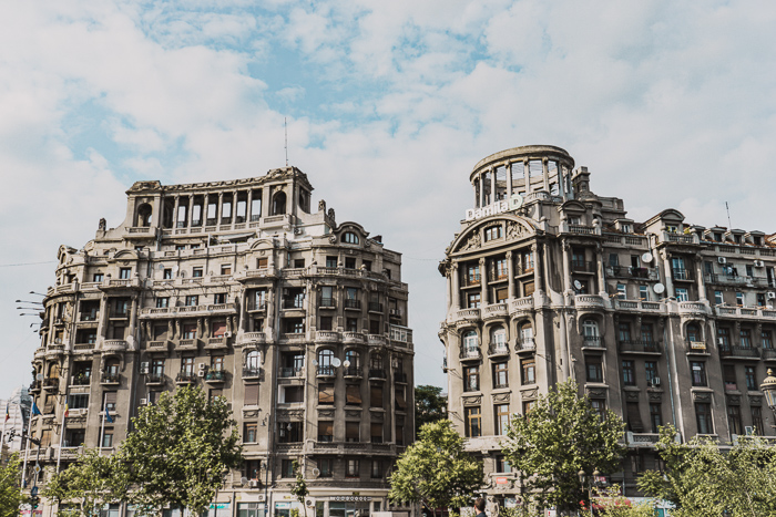 The Architecture of Bucharest