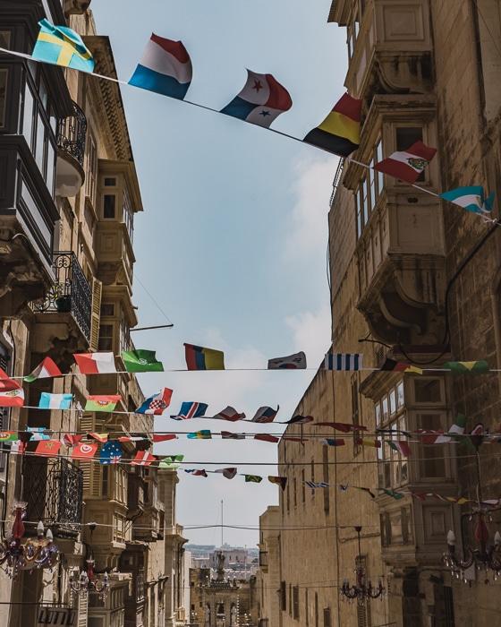 Valletta Streets, Malta