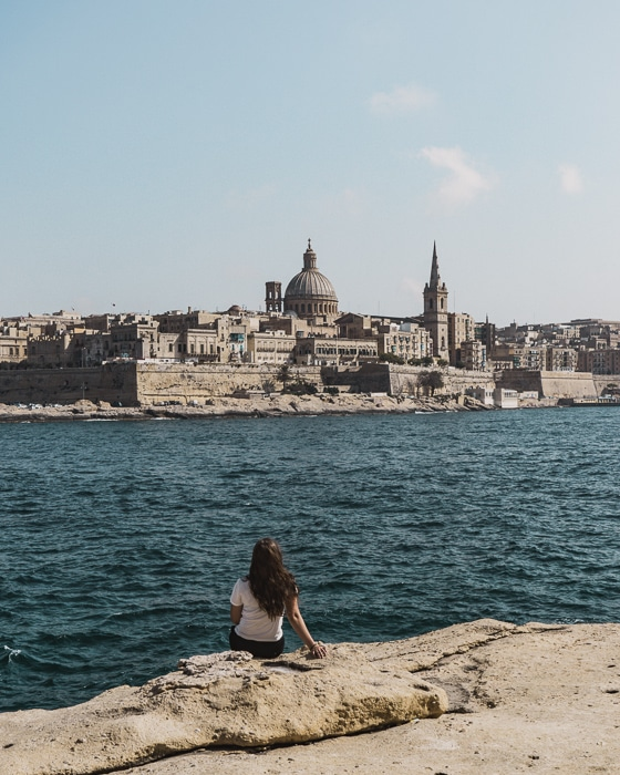 The Views of Valletta from Sliema