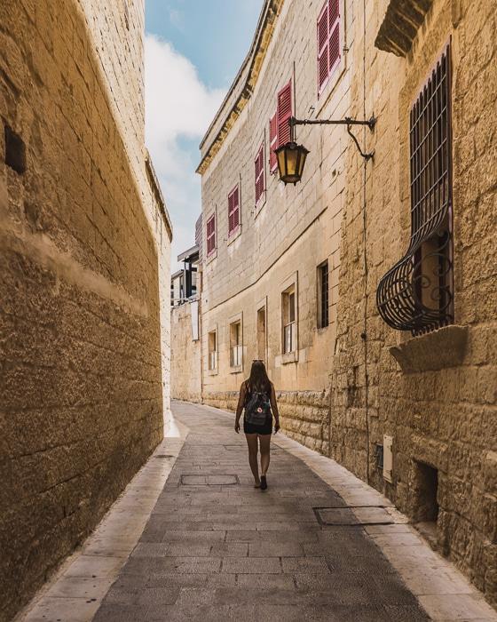 Mdina Streets, Malta