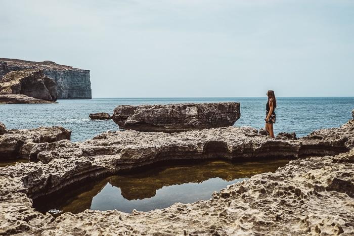Dwejra Bay, Gozo, Malta