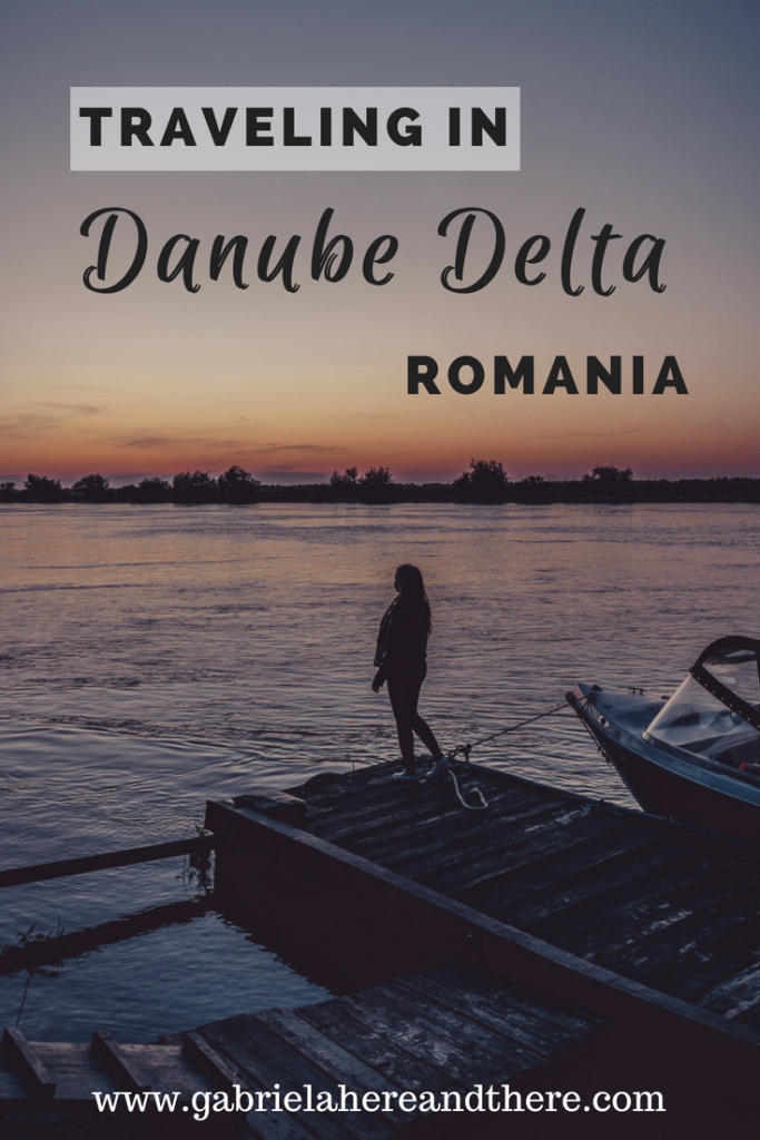 Traveling in Danube Delta, Romania
