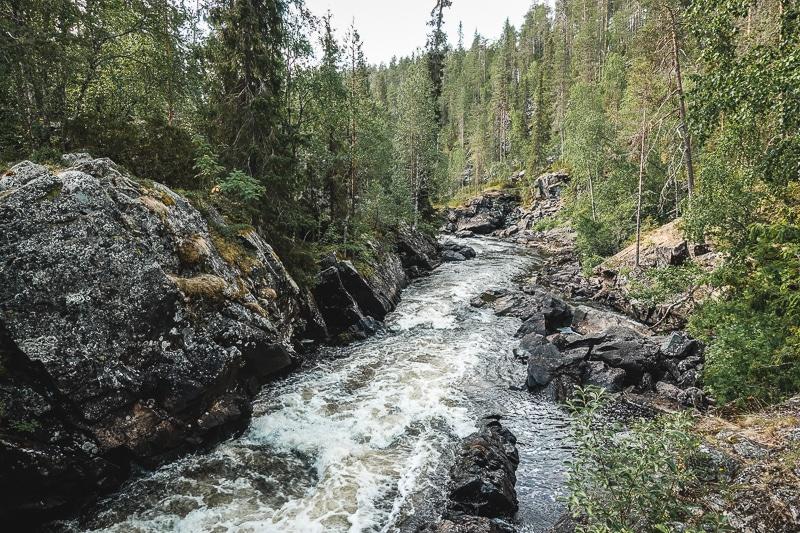 Rapids, Karhunkierros, Kuusamo