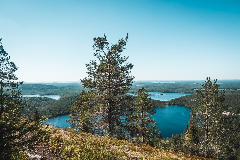 Hiking Karhunkierros Trail, Finland